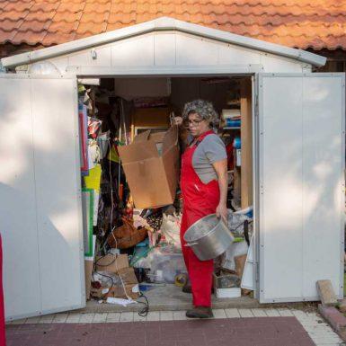 שרית גושן מלמדת איך לעשות סדר במחסן